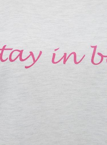 Světle šedá noční košile M&Co Stay