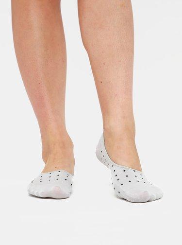 Sada troch párov dámskych nízkych ponožiek v rúžovej, bielej a šedej farbe Meatfly
