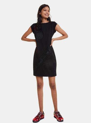 Čierne šaty Desigual Briana
