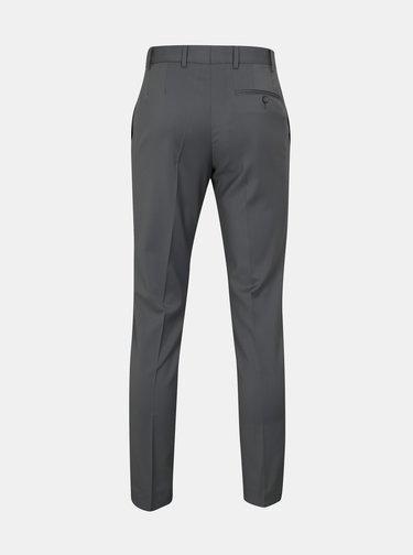 Sivé oblekové vlnené nohavice Good Son