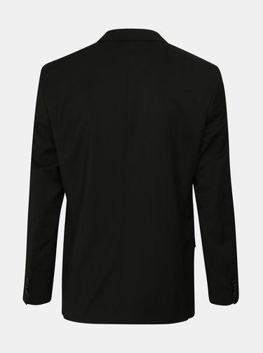 Sacou formal negru din lana Good Son
