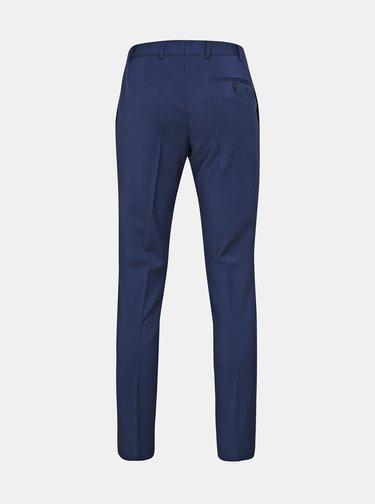 Modré oblekové vlněné kalhoty Good Son