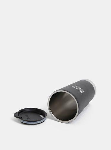 Čierny nerezový termohrnček Klean Kanteen 592 ml