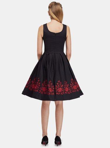 Čierne šaty Dolly & Dotty Amanda