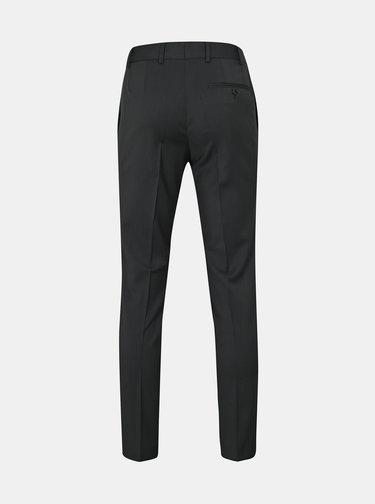 Tmavosivé oblekové vlnené nohavice Good Son