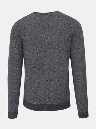 Modrý žíhaný sveter Selected Homme New Jeff