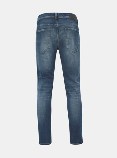 Modré slim fit džíny Selected Homme Leon
