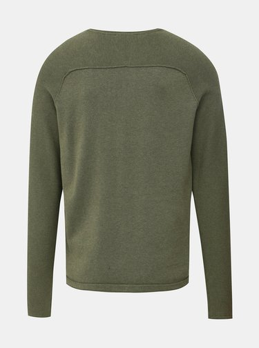 Kaki sveter Selected Homme Carter