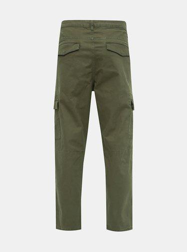 Zelené kalhoty ONLY & SONS Aged