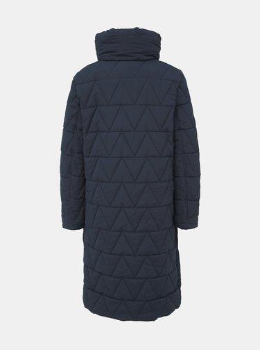 Tmavomodrý zimný kabát VILA Jaxie