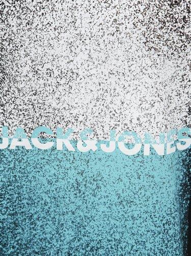 Čierne tričko s potlačou Jack & Jones CORE Sound