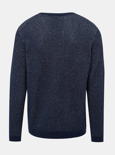 Tmavomodrý žíhaný sveter ONLY & SONS Call
