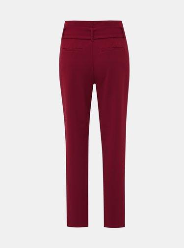 Vínové kalhoty ONLY Carolina