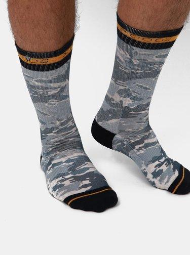 Modré pánské vzorované ponožky XPOOOS