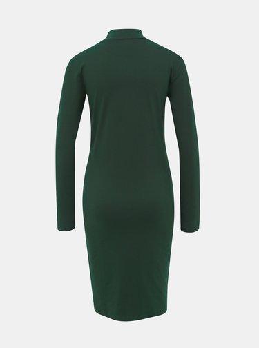 Tmavozelené basic šaty Jacqueline de Yong Yava