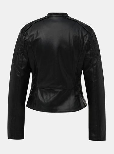 Černý dámský koženkový křivák Alcott