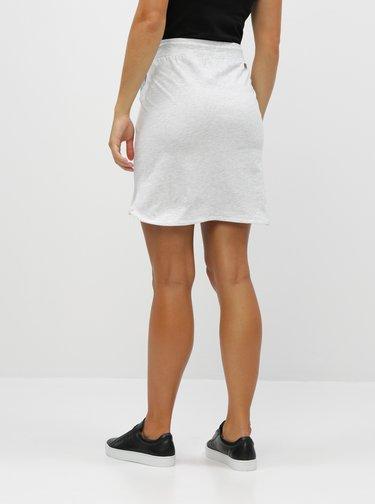 Svetlošedá žíhaná sukňa LOAP Nirvana