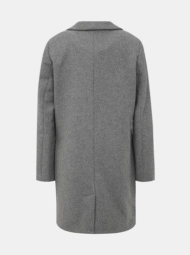 Šedý dámský zimní kabát s příměsí vlny Alcott