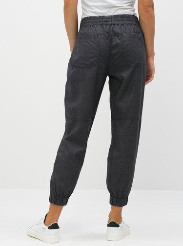 Tmavě šedé kalhoty prAna Mantra