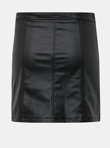 Černá koženková sukně Haily´s Kate