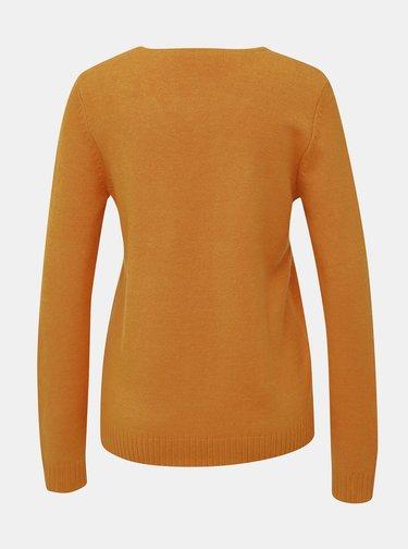 Oranžový sveter VILA Viril