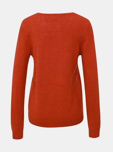 Červený sveter VILA Viril