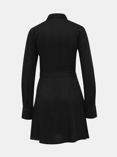 Černé košilové šaty TALLY WEiJL