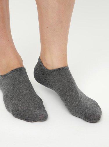 Sada siedmich párov nízkych šedých ponožiek TALLY WEiJL