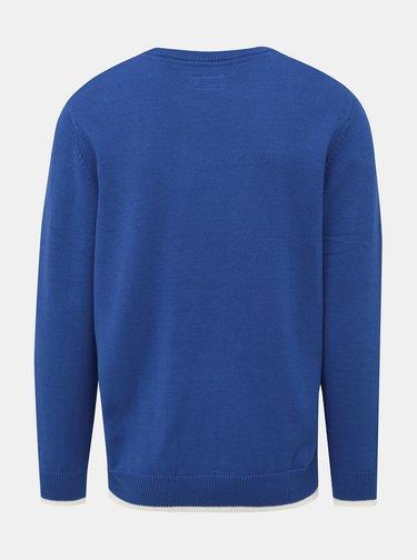 Modrý pánsky sveter Pepe Jeans Luis