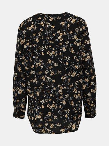 Černá květovaná halenka Jacqueline de Yong Zoey