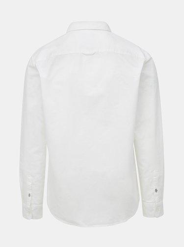 Bílá slim fit košile ONLY & SONS Oliver