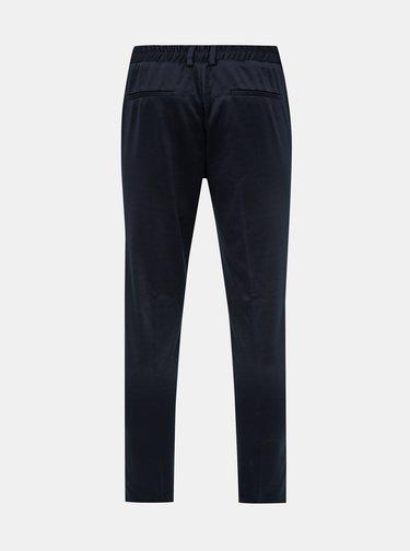 Tmavě modré oblekové slim fit kalhoty ONLY & SONS  Selias