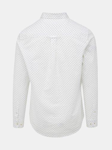 Bílá puntíkovaná košile Burton Menswear London