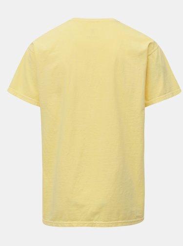 Tricou galben cu broderie Mr.Sailor
