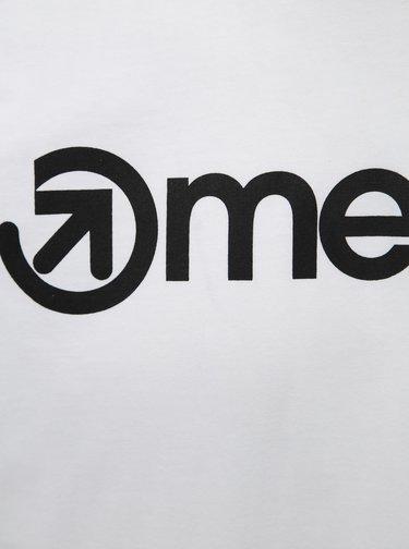 Biele pánske tričko Meatfly Logo