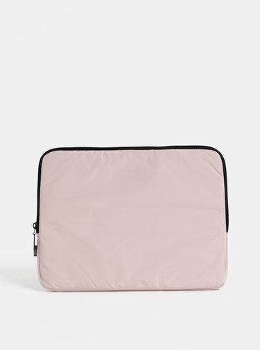 """Světle růžový obal na notebook Design Letters 13"""""""