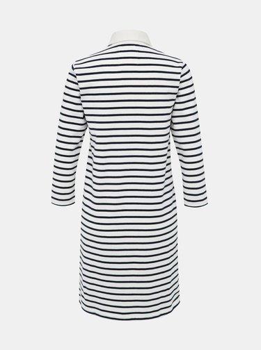 Biele pruhované šaty Tom Joule Winona