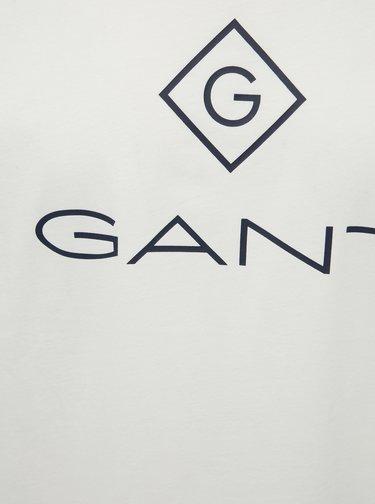 Bílé pánské tričko GANT Lock