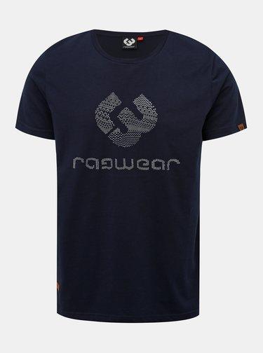 Tmavě modré pánské tričko s potiskem Ragwear Charles