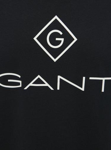 Černé pánské tričko GANT Lock