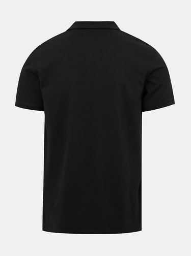 Černé pánské polo tričko GANT Rugger
