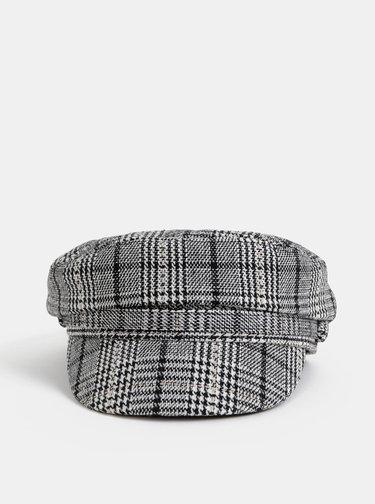 Šedá vzorovaná kapitánska čapica Pieces Havanna