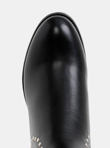 Čierne chelsea topánky Pieces Harper