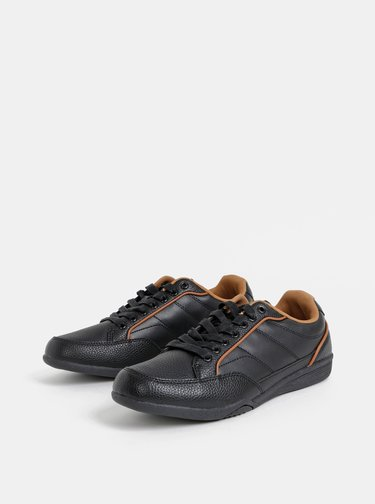 Černé pánské tenisky Burton Menswear London