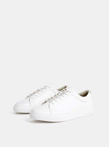 Biele pánske tenisky Jack & Jones Sputnik