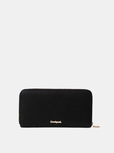 Čierna vzorovaná peňaženka Desigual