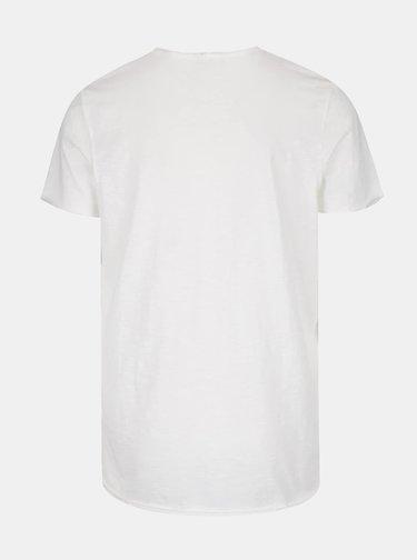 Krémové basic tričko Jack & Jones Orbas
