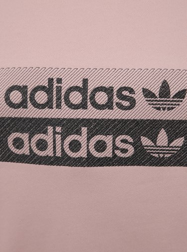 Světle růžová dámská mikina adidas Originals