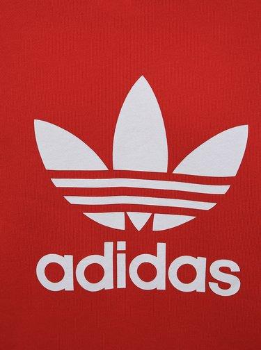 Červená pánská mikina adidas Originals