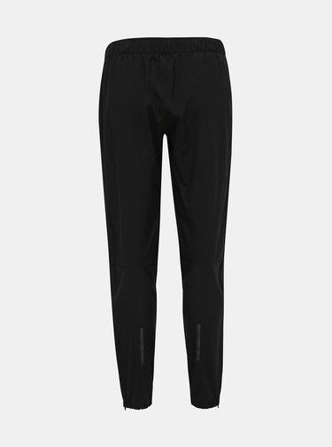 Čierné dámske šušťákové nohavice adidas Performance